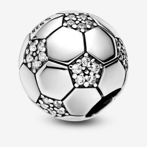 ❤️Sparkling Soccer Charm